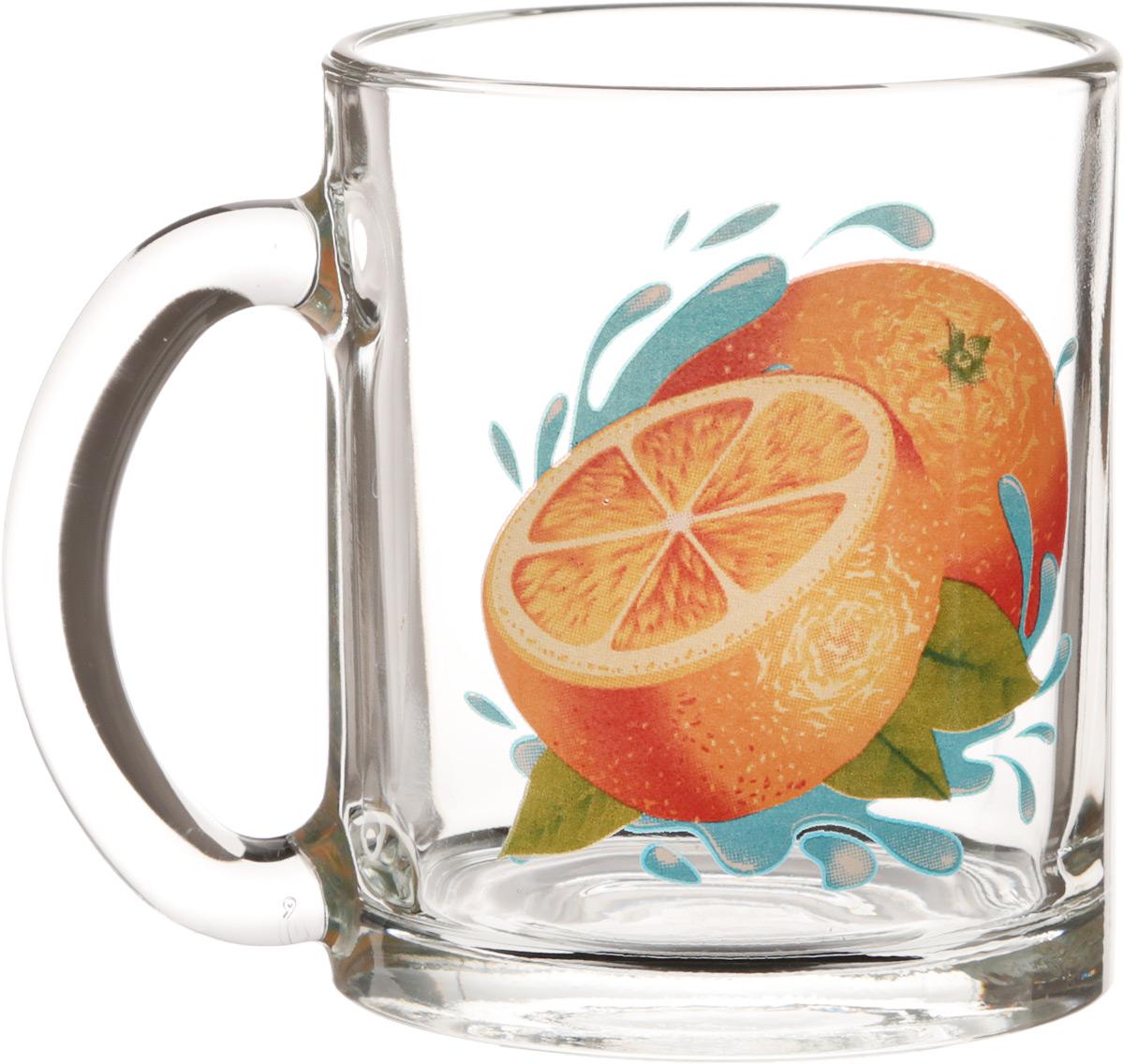 Кружка OSZ Чайная. Апельсин, 320 мл04C1208-APKКружка ЧАЙНАЯ АПЕЛЬСИН К 320мл.Изготовлено из стекла.