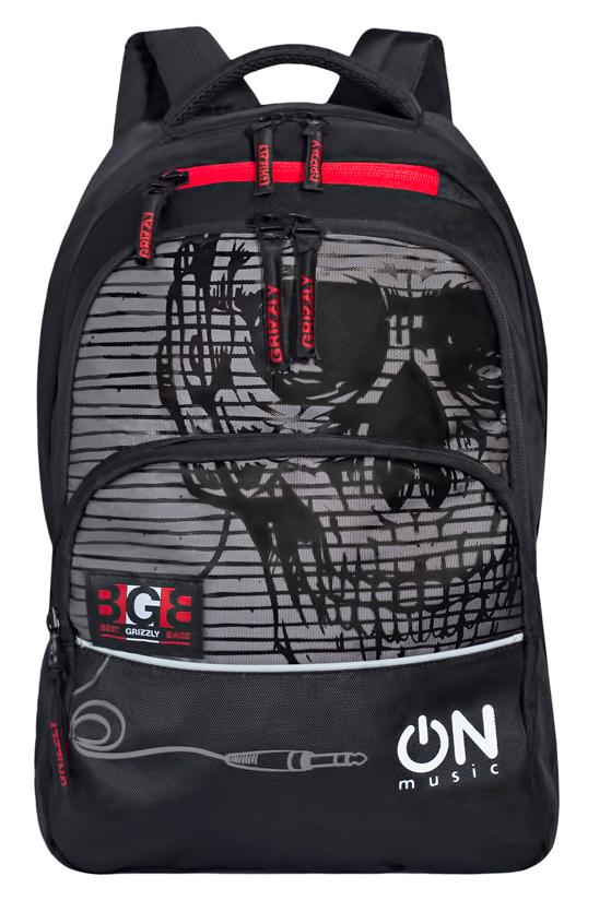 Рюкзак городской мужской Grizzly, цвет: серый. RU-715-2/2RU-715-2/2Рюкзак молодежный с двумя отделениями, передними, боковыми, внутренним и карманом-пеналом, укрепленными лямками и спиной, ручкой для переноски и ручкой-вешалкой.