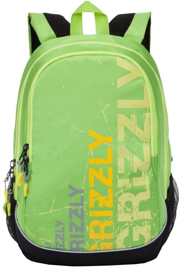 Рюкзак городской мужской Grizzly, цвет: светло-зеленый. RU-721-1/3RU-721-1/3Рюкзак молодежный, два отделения, боковые карманы из сетки, внутренний карман-пенал для карандашей, внутренний подвесной карман на молнии, анатомическая спинка, дополнительная ручка-петля, укрепленные лямки