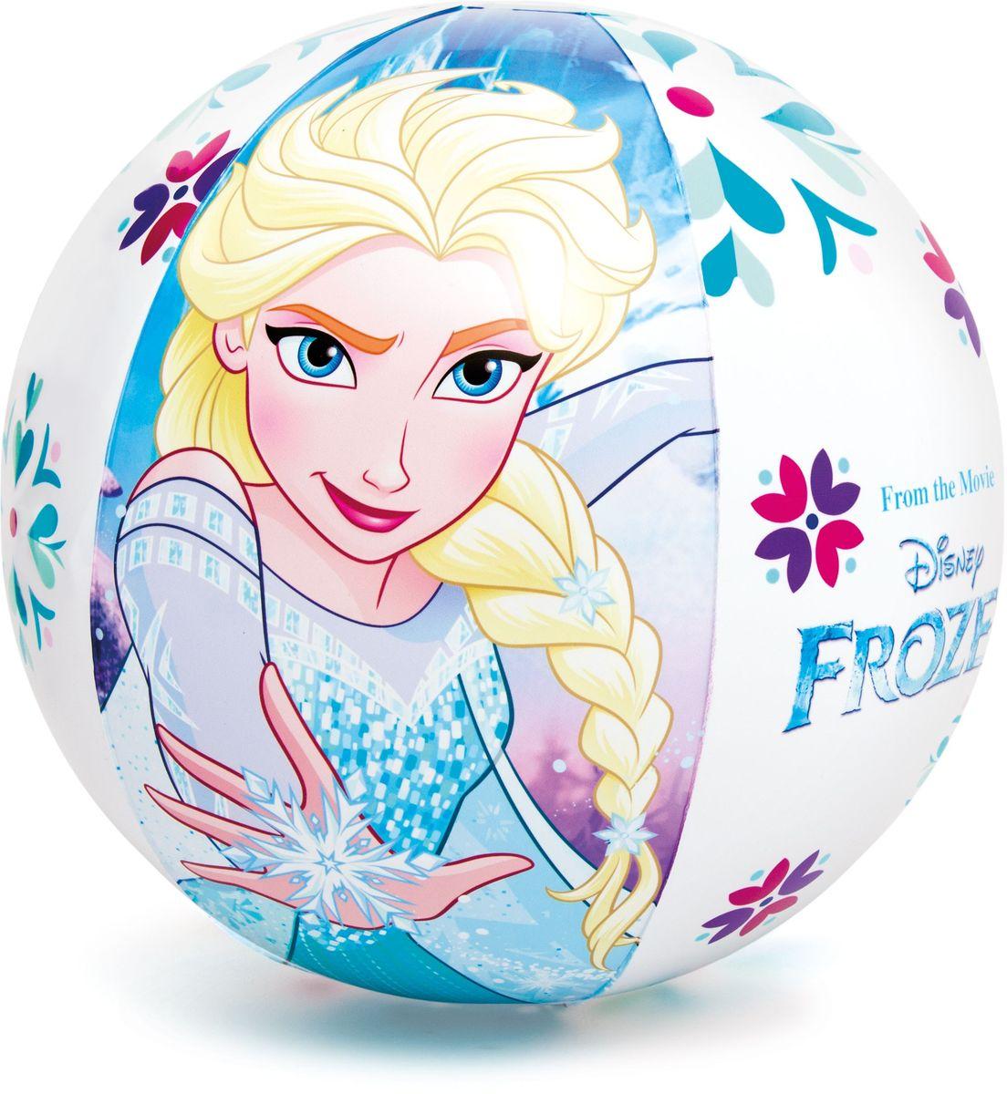 Intex Мяч детский надувной Disney Холодное сердце 51 см с58021