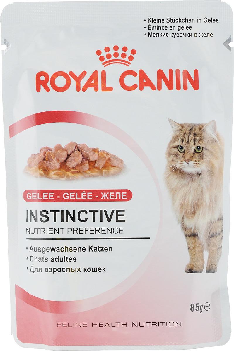 Консервы Royal Canin Instinctive, для кошек старше 1 года, мелкие кусочки в желе, 85 г46762Консервы Royal Canin Instinctive - полнорационный влажный корм для кошек старше 1 года Какой бы здоровой ни была пища, если кошка не захочет ее есть, от нее будет мало пользы! Взрослые кошки предпочитают особую формулу Macro Nutritional Profile. У взрослых кошек и котов, особенно стерилизованных или кастрированных, повышается риск заболевания мочекаменной болезнью. Их рацион должен содержать питательные вещества, необходимые для поддержания их жизненной энергии, и в то же время способствовать сохранению идеального веса. Корм INSTINCTIVE 12 является идеально сбалансированным рационом, соответствующим оптимальной формуле макронутриентного профиля (MNP), инстинктивно предпочитаемый кошками. Здоровая мочевыводящая система. Помогает поддерживать здоровье мочевыделительной системы кошки, сокращая концентрацию минеральных веществ, способствующих образованию мочевых камней. Поддержание идеального веса. Исключительно аппетитные...