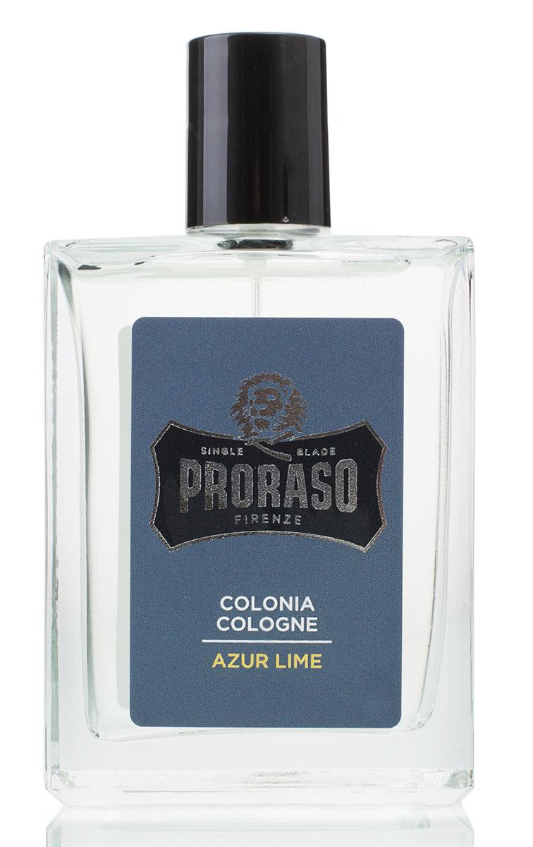 Proraso Одеколон Azur Lime 100 мл400771Azur Lime («Лазурный лайм») - это жизнерадостная свежесть цитрусовых фруктов в эксклюзивном аромате, создающем оригинальную и мужественную ольфакторную ауру. Финальный штрих каждодневной рутины аутентичного ухода за собой.