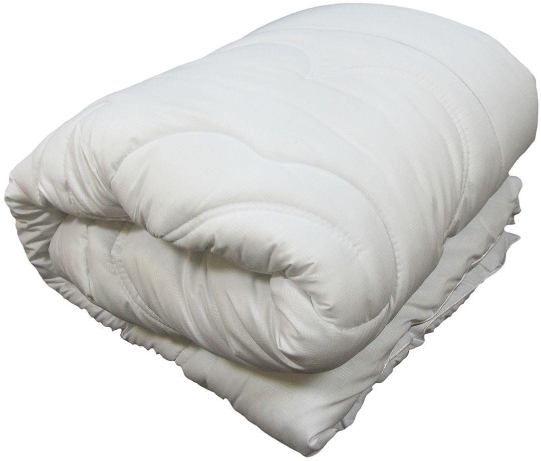 Одеяло Сорренто Лебяжий пух, всесезонное, цвет: белый, 140 х 205 см25740