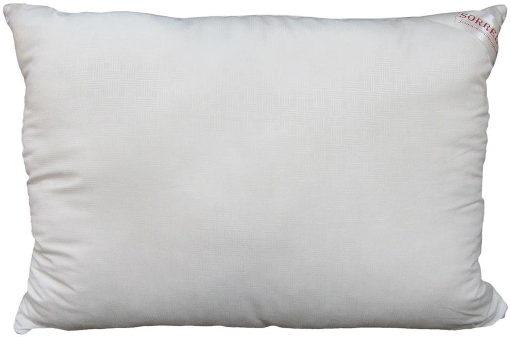 Подушка Сорренто Лебяжий пух, цвет: белый, 50 х 70 см25748