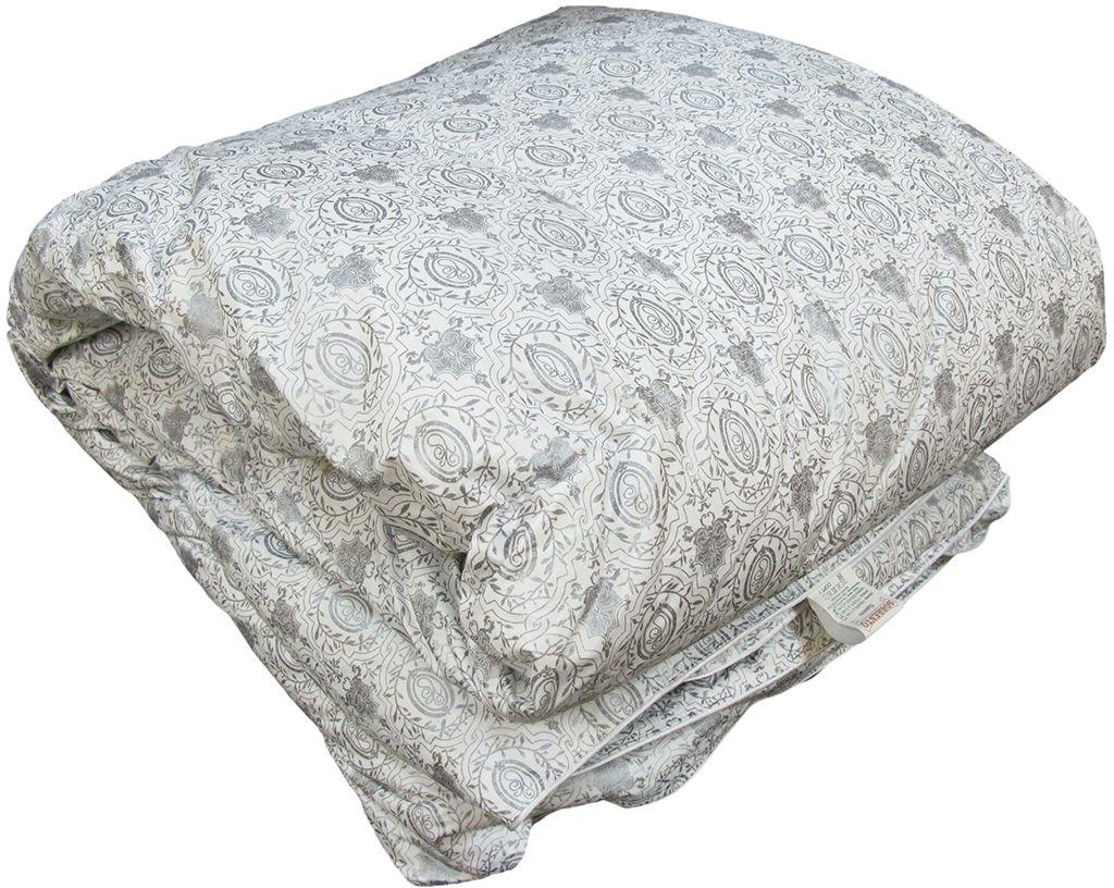 Одеяло Браво Standart Премиум Лидер, теплое, наполнитель: пух, цвет: светло-бежевый, 140 х 205 см26908