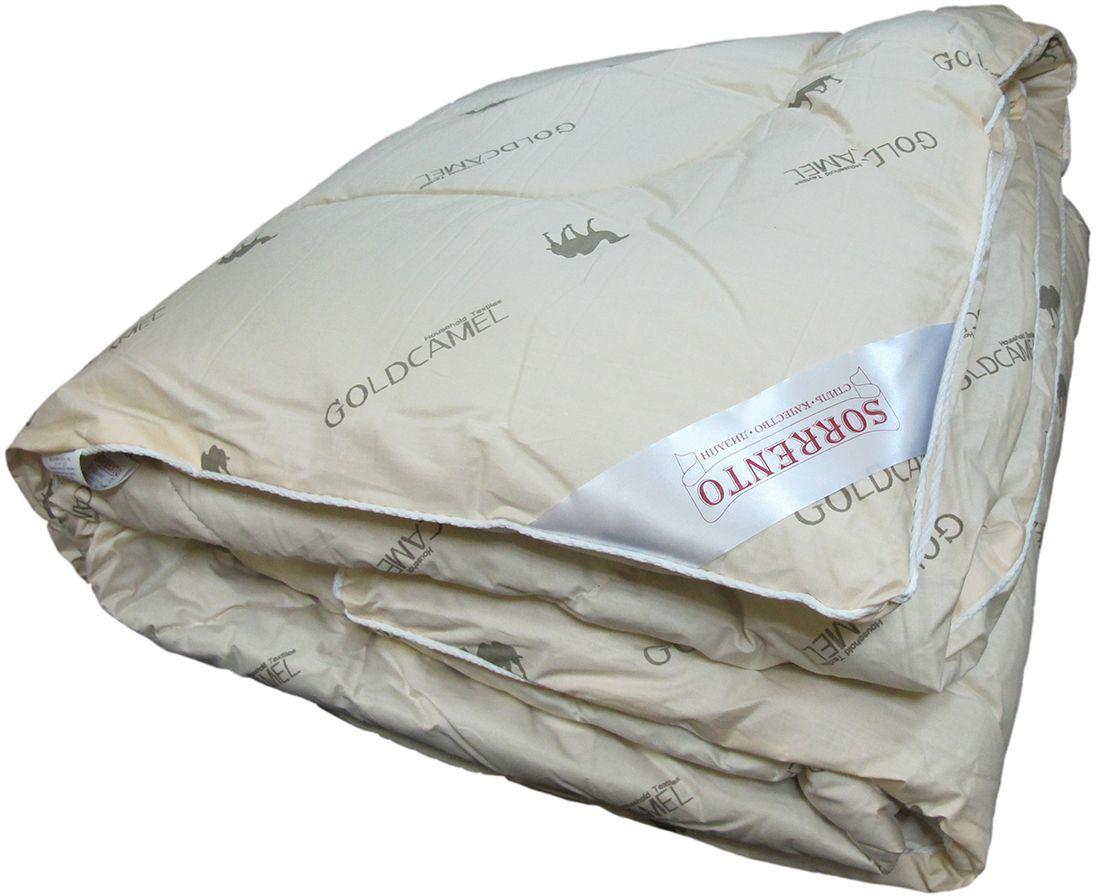 Одеяло Сорренто Верблюжья шерсть, всесезонное, цвет: бежевый, 140 х 205 см28101