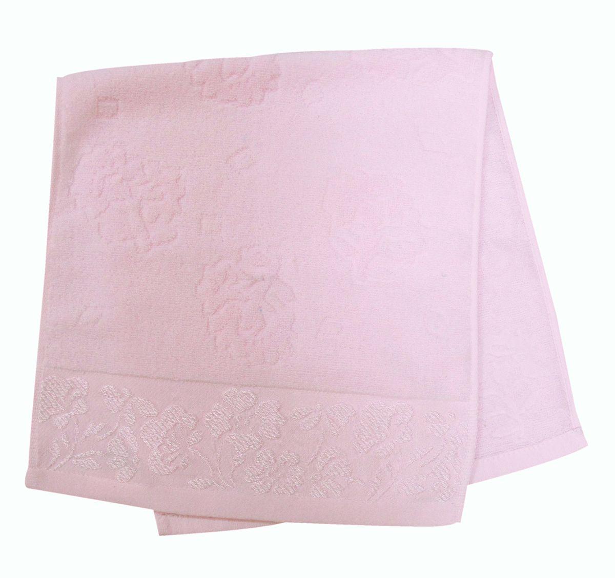 Полотенце махровое НВ Ромашка, цвет: розовый, 33 х 70 см. м0177_0240707