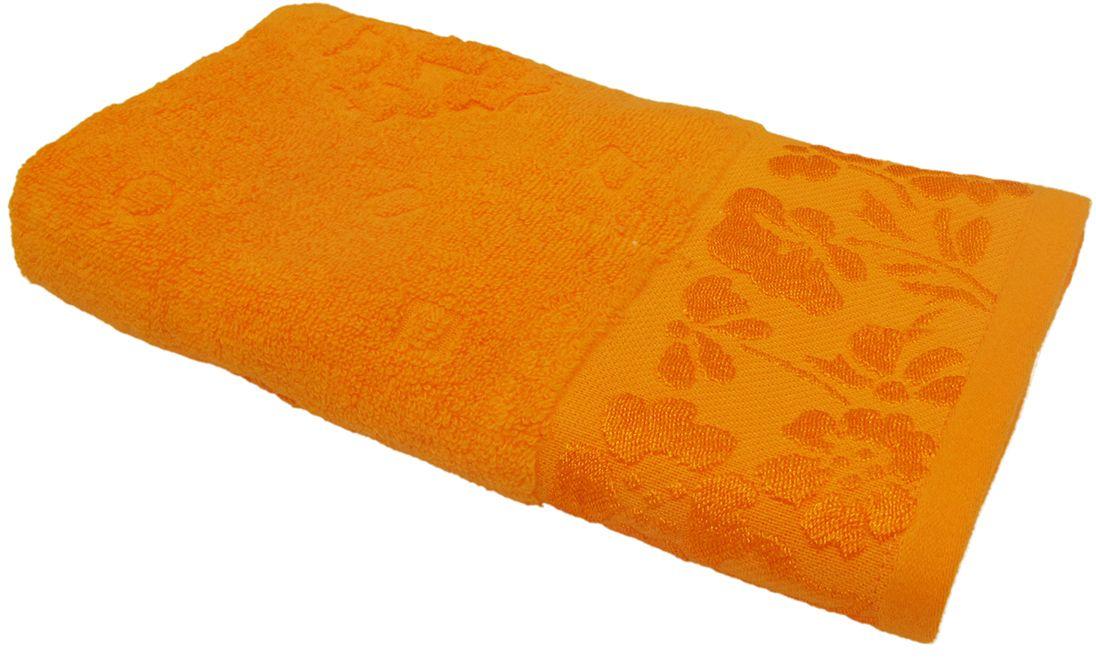 Полотенце махровое НВ Ромашка, цвет: красный, 50 х 90 см. м0177_1540712