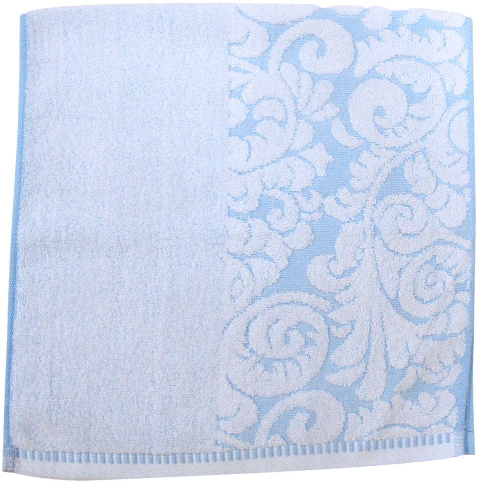 Полотенце махровое НВ Версаль, цвет: синий, 33 х 70 см. м0394_0155733