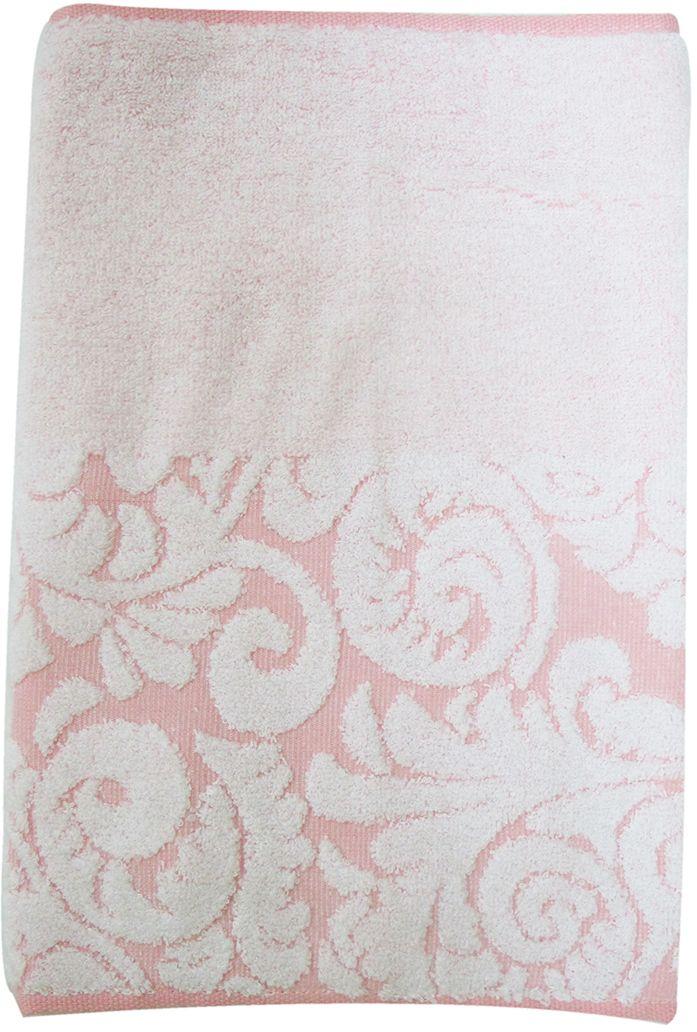 Полотенце махровое НВ Версаль, цвет: розовый, 33 х 70 см. м0394_0255736