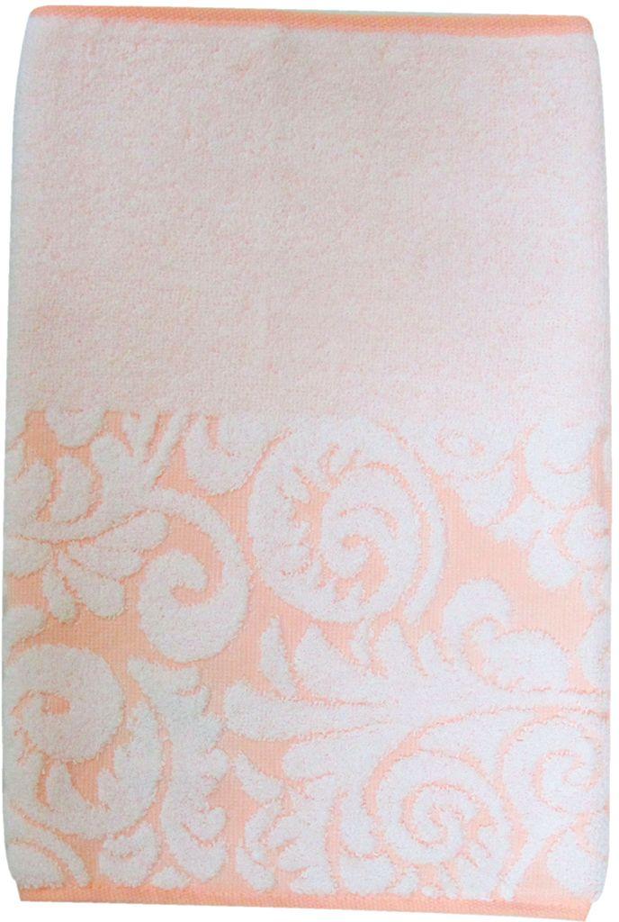 Полотенце махровое НВ Версаль, цвет: персиковый, 33 х 70 см. м0394_1255742