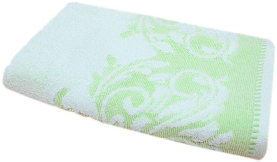 Полотенце махровое НВ Венеция, цвет: зеленый, 50 х 90 см. м0508_0366499