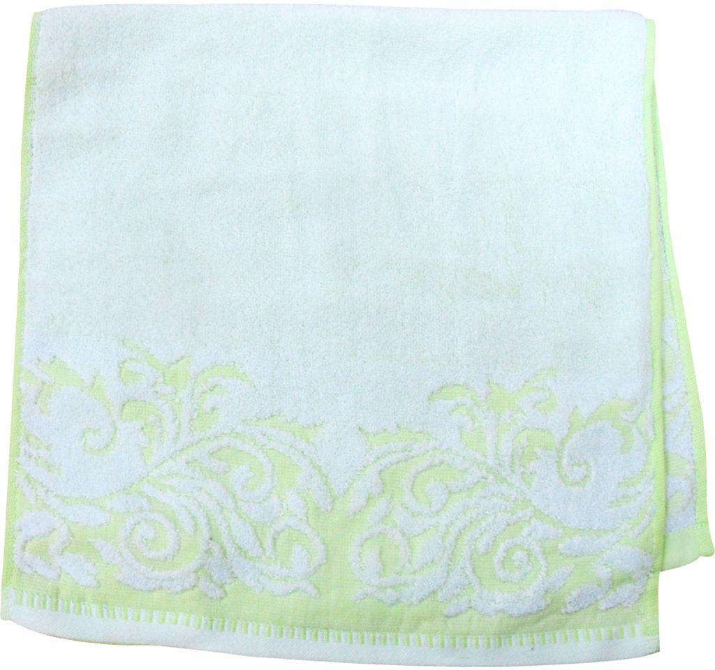 Полотенце махровое НВ Венеция, цвет: зеленый, 33 х 70 см. м0508_0366500