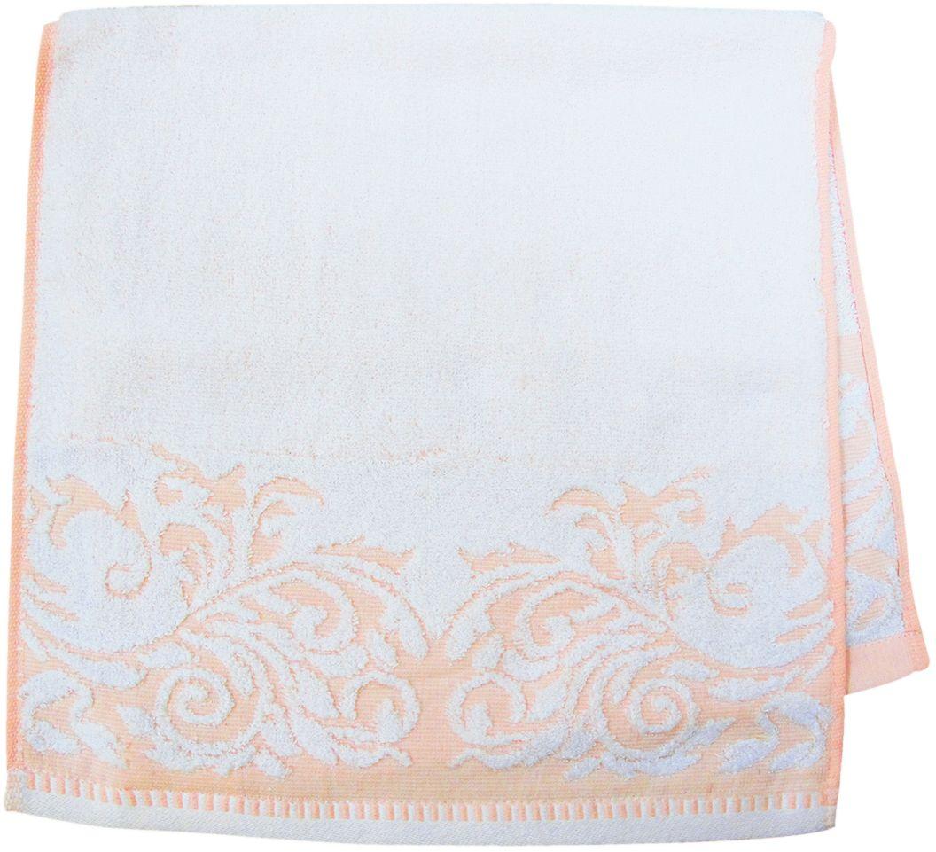 Полотенце махровое НВ Венеция, цвет: персиковый, 33 х 70 см. м0508_1266510