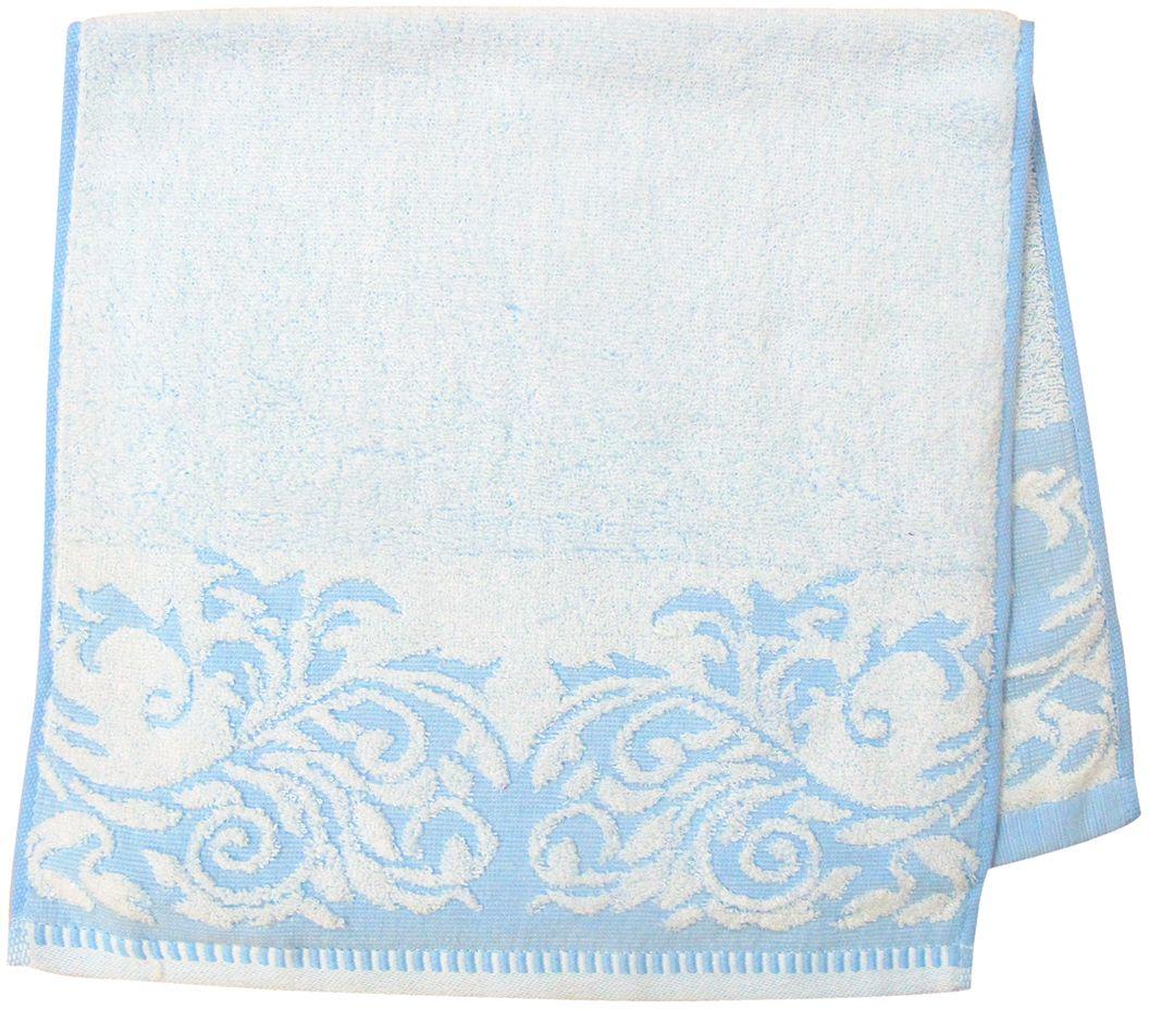 Полотенце махровое НВ Венеция, цвет: синий, 33 х 70 см. м0508_0166512
