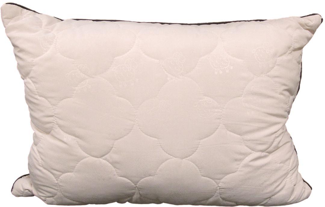 Подушка ЭкоСтиль Wool, цвет: бежевый, 50 х 70 см68950