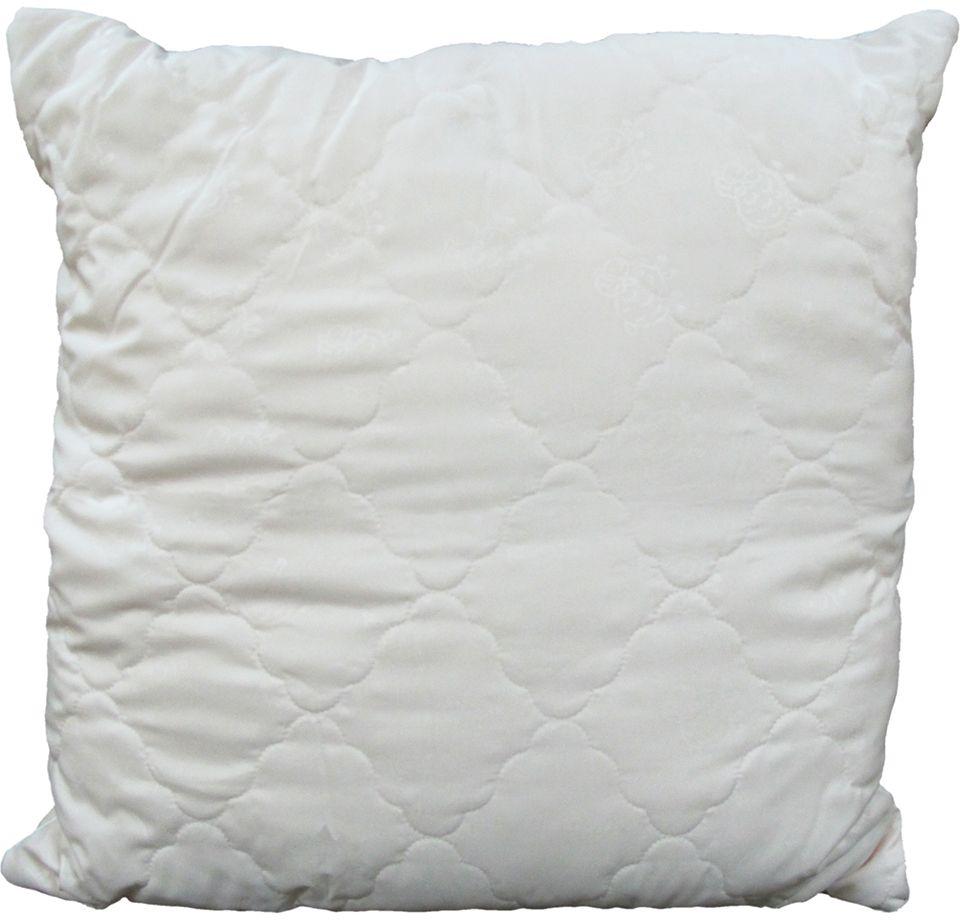 Подушка ЭкоСтиль Wool, цвет: бежевый, 70 х 70 см68951