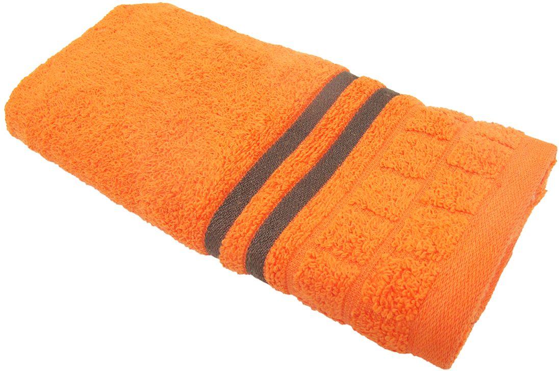 Полотенце махровое НВ Лана, цвет: оранжевый, 33 х 70 см. м1009_1370458