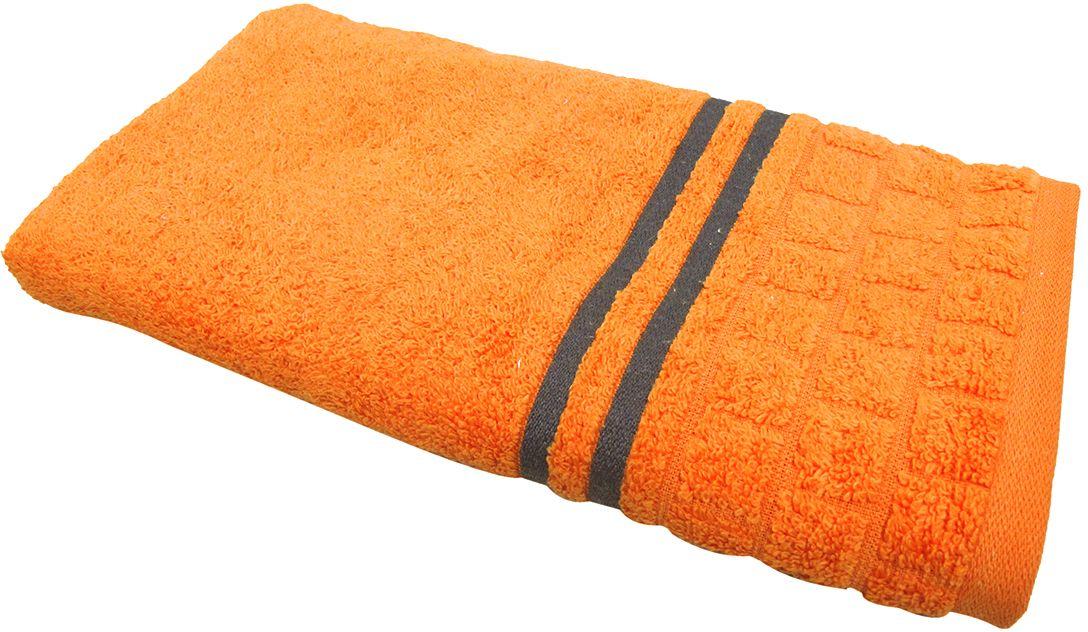 Полотенце махровое НВ Лана, цвет: оранжевый, 50 х 90 см. м1009_1370459