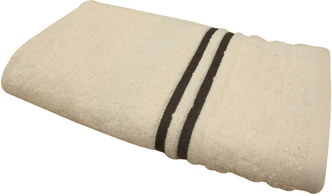 Полотенце махровое НВ Лана, цвет: бежевый, 50 х 90 см. м1009_0570761
