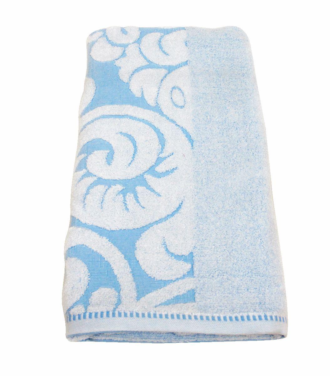 Полотенце махровое НВ Версаль, цвет: синий, 70 х 130 см. м0394_0178226