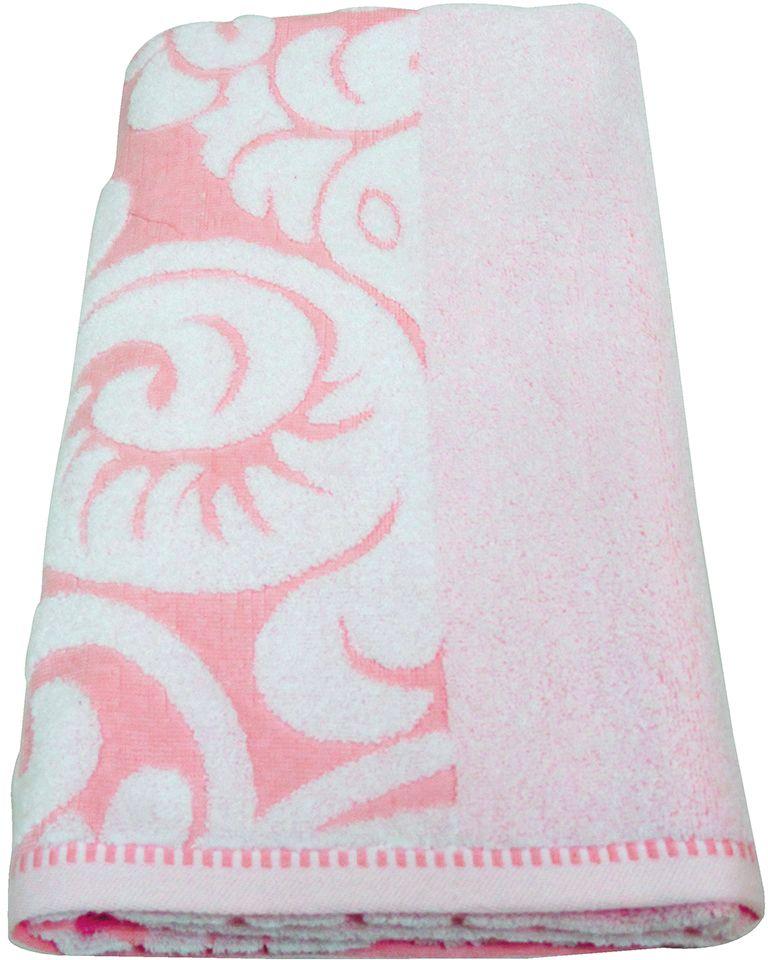 Полотенце махровое НВ Версаль, цвет: розовый, 70 х 130 см. м0394_0278227