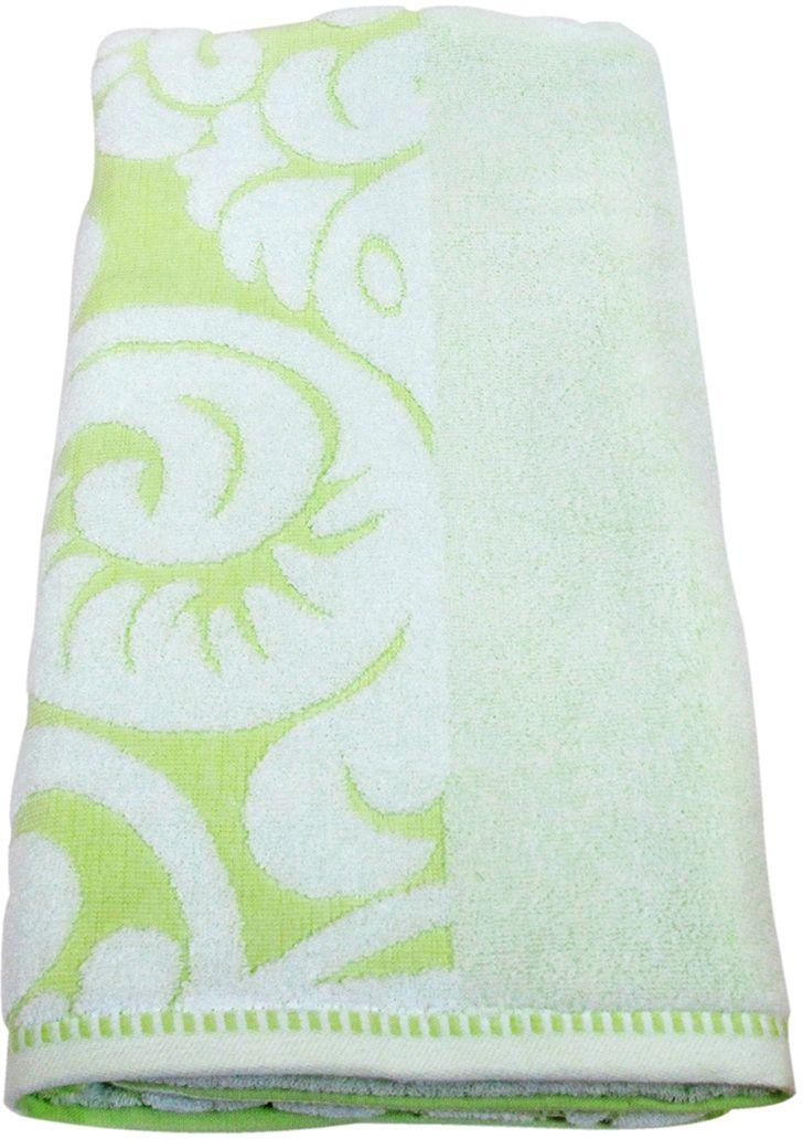 Полотенце махровое НВ Версаль, цвет: зеленый, 70 х 130 см. м0394_0378228