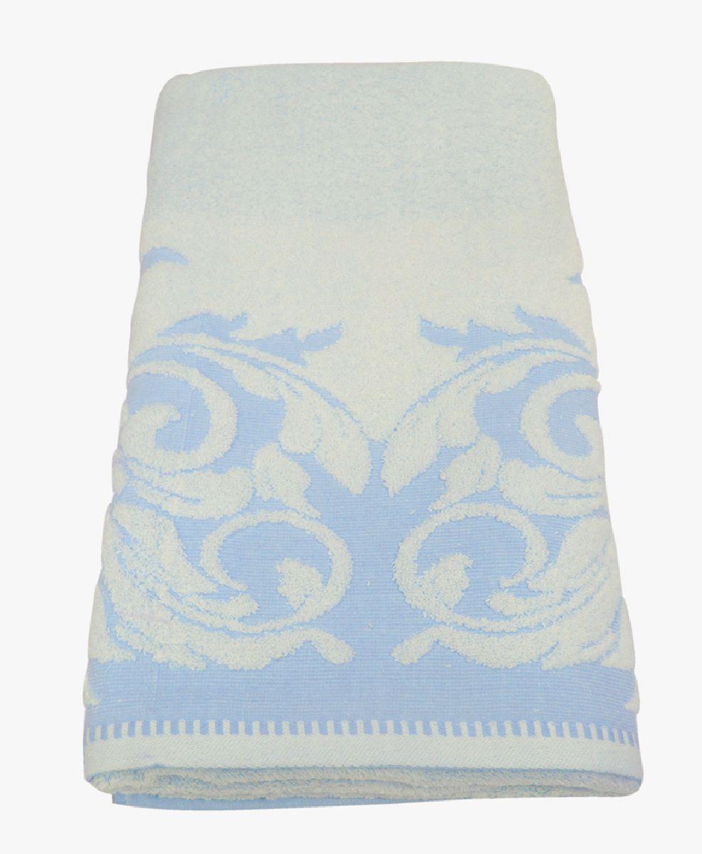 Полотенце махровое НВ Венеция, цвет: синий, 70 х 130 см. м0508_0178231