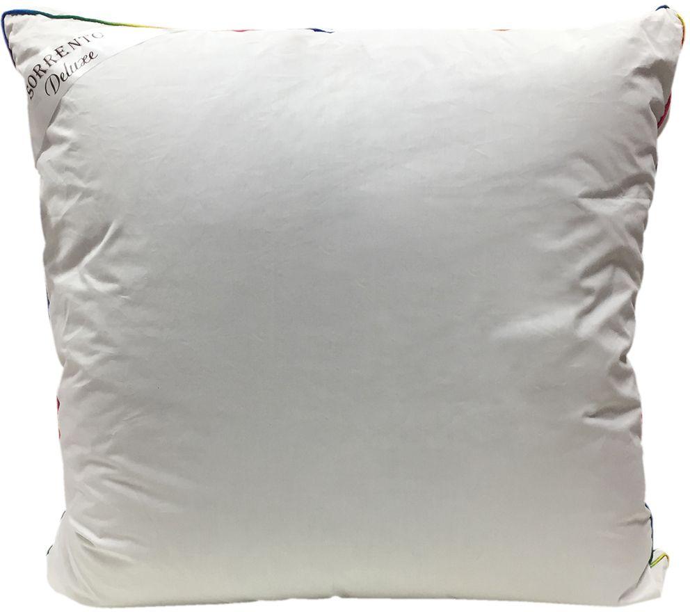 Подушка Сорренто Делюкс Гипноз, цвет: белый, 70 х 70 см80460