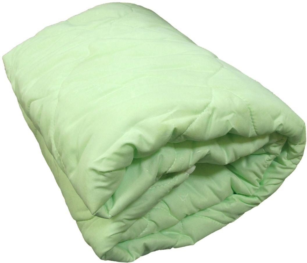 Одеяло Relax Bamboo, всесезонное, цвет: светло-зеленый, 140 х 205 см83098