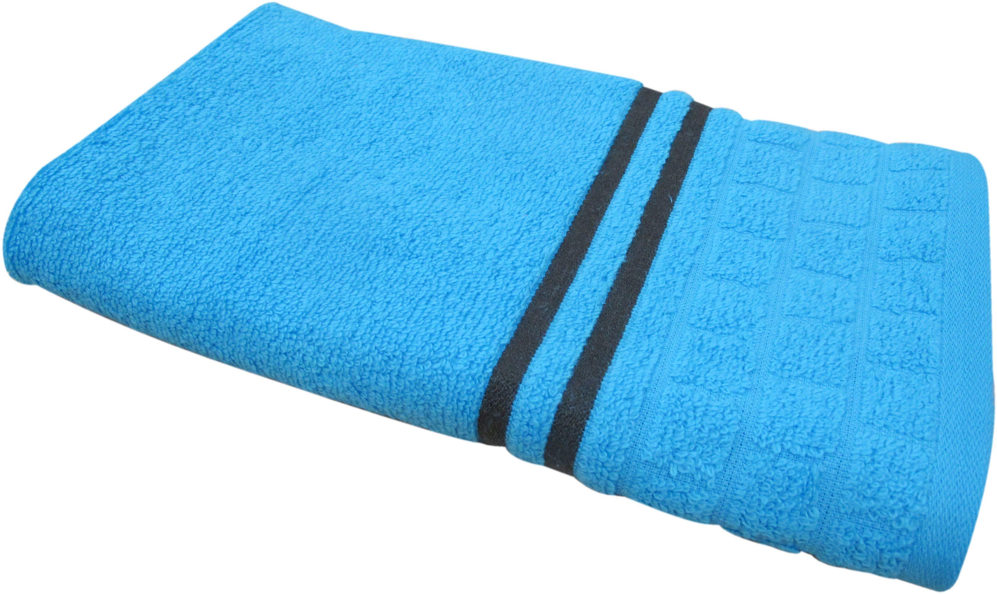 Полотенце махровое НВ Лана, цвет: синий, 50 х 90 см. м1009_0184550