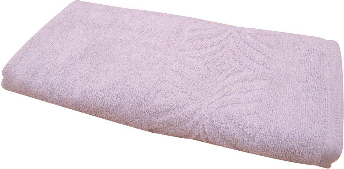 Полотенце махровое ВТ Комфорт, цвет: сиреневый, 65 х 130 см. м1085_2285494