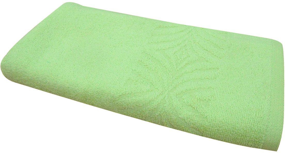 Полотенце махровое ВТ Комфорт, цвет: зеленый, 65 х 130 см. м1085_0385496