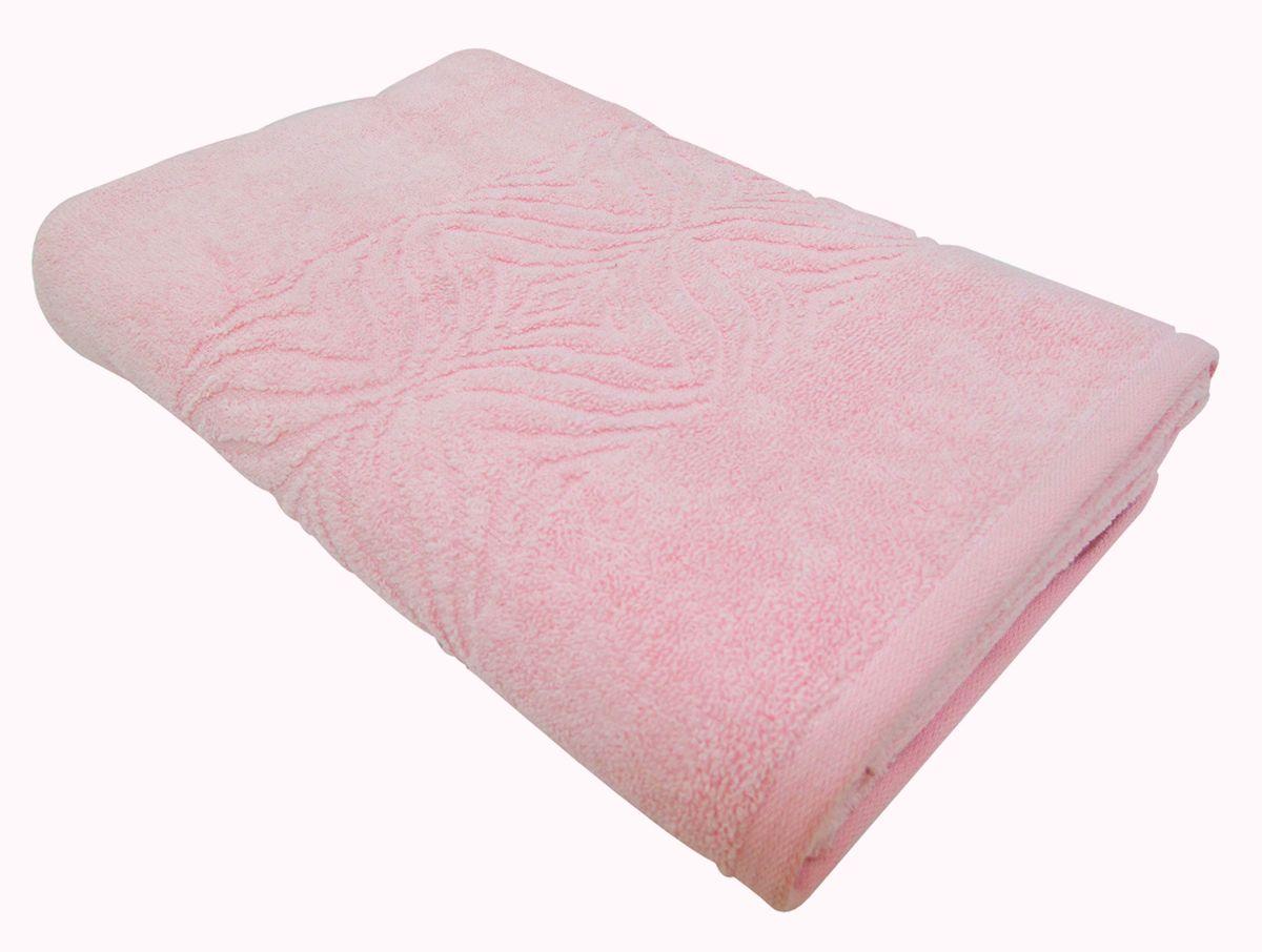 Полотенце махровое ВТ Комфорт, цвет: розовый, 45 х 90 см. м1085_0285499