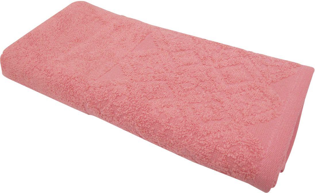 Полотенце махровое ВТ Вдохновение, цвет: персиковый, 45 х 90 см. м1086_1285510