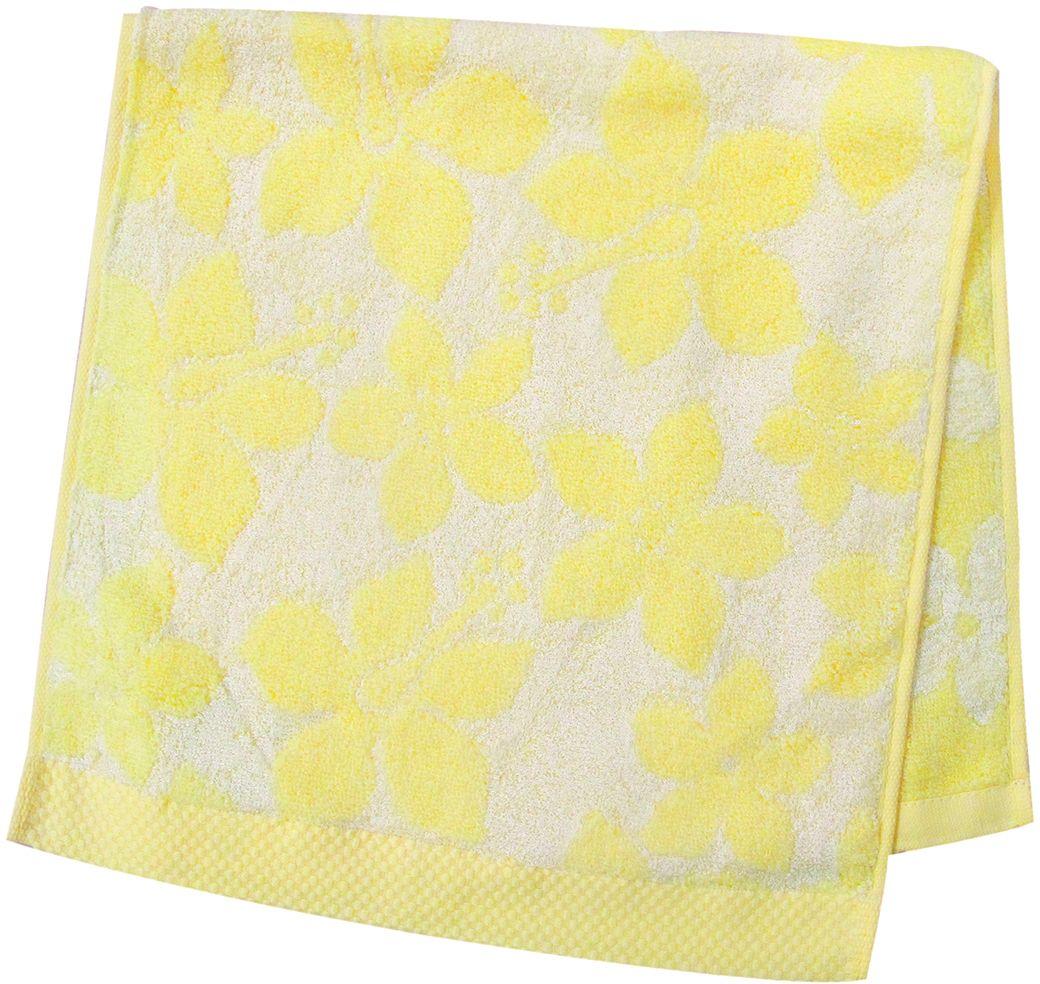 Полотенце махровое НВ Бьянка, цвет: желтый, 33 х 70 см. м0741_0685541
