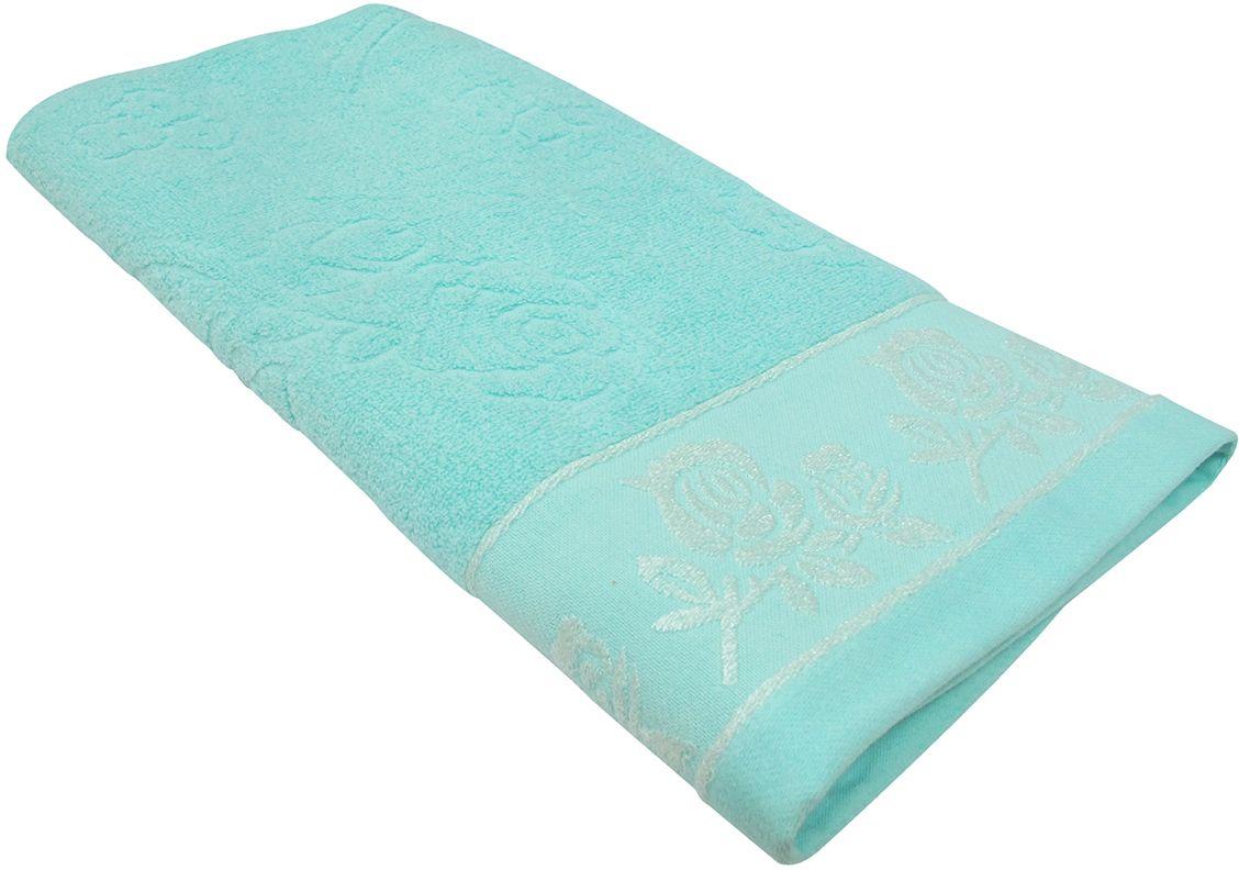 Полотенце махровое НВ Аваланж, цвет: синий, 65 х 130 см. м0746_0185579