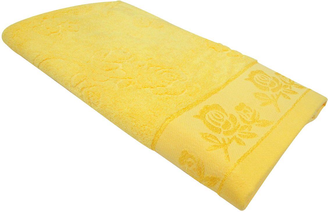 Полотенце махровое НВ Аваланж, цвет: желтый, 65 х 130 см. м0746_0685580