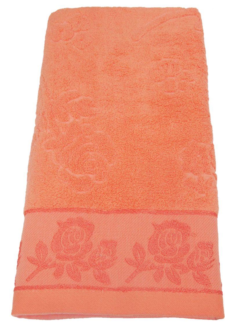 Полотенце махровое НВ Аваланж, цвет: персиковый, 65 х 130 см. м0746_1285583