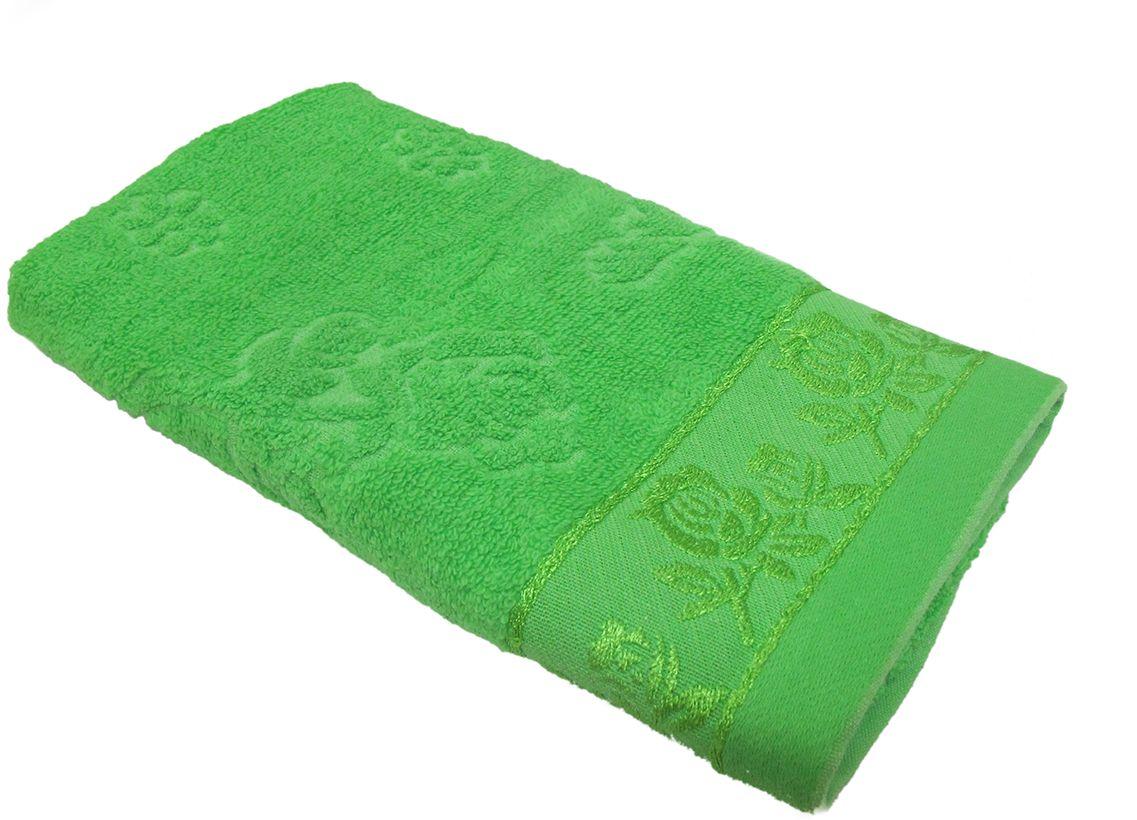 Полотенце махровое НВ Аваланж, цвет: зеленый, 45 х 90 см. м0746_0385586
