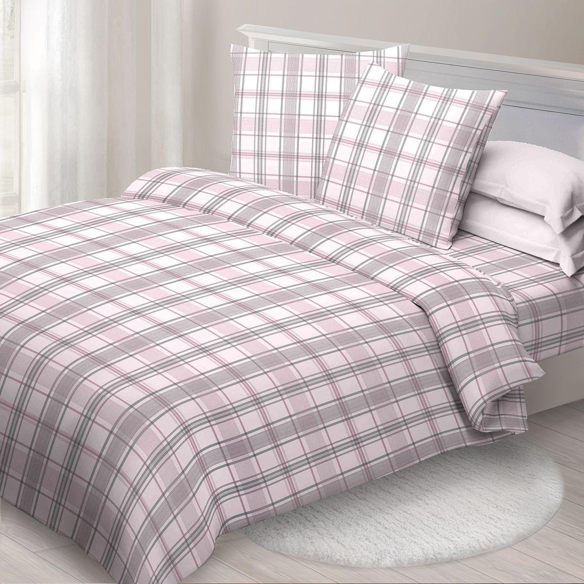 Комплект белья Спал Спалыч Ричард, 2-спальное, наволочки 70x70, цвет: розовый91324Спал Спалыч - недорогое, но качественное постельное белье из белорусской бязи. Актуальные дизайны, авторская упаковка в сочетании с качественными материалами и приемлемой ценой - залог успеха Спал Спалыча! В ассортименте широкая линейка домашнего текстиля для всей семьи - современные дизайны современному покупателю! Ткань обработана по технологии PERFECT WAY - благодаря чему, она становится более гладкой и шелковистой. • Бязь Барановичи 100% хлопок • Плотность ткани - 125 гр/кв.м.