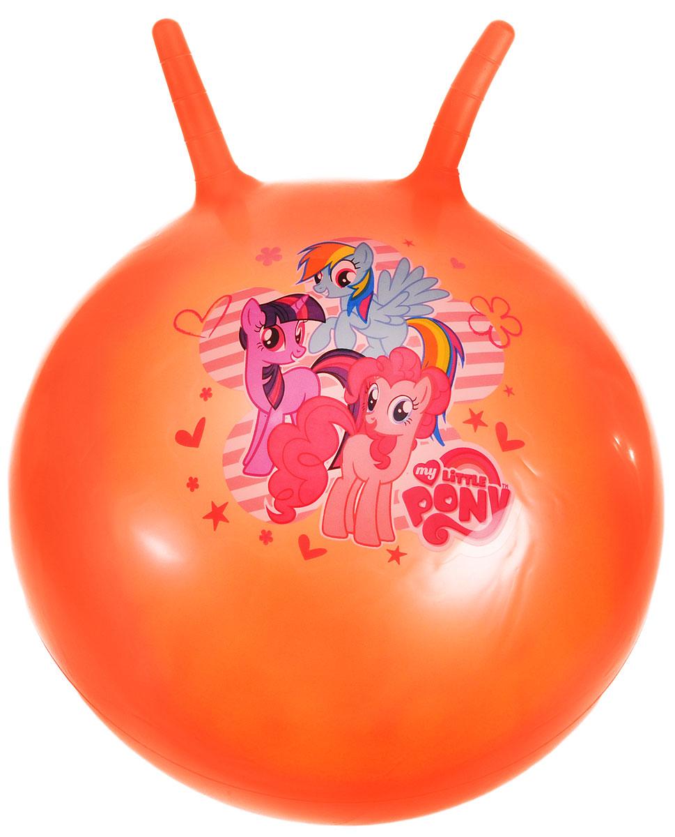 Играем вместе Мяч My Little Pony с рожками цвет оранжевый 55 см