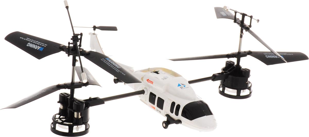HappyCow Вертолет на радиоуправлении Magic цвет белый