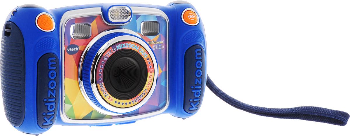 Vtech Электронная игрушка Цифровая камера Kidizoom Duo цвет синий vtech компьютер обучающий