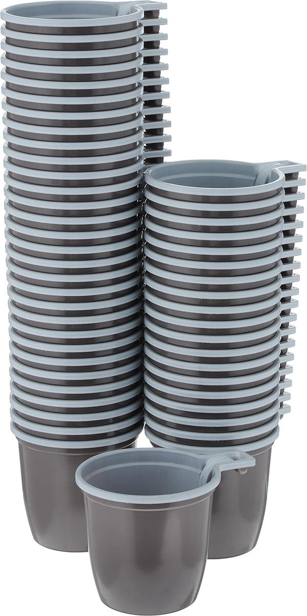 Набор одноразовых чашек ИНТЕКО, цвет: коричнево-белый, 50 штПОС08057Набор Интеко состоит из 50 чашек, выполненных из полипропилена. Набор предназначен для одноразового использования. Одноразовые чашки незаменимы в поездках на природу и на пикниках. Они не займут много места, легкие и прочные, а самое главное - после использования их не надо мыть. Объём чашки: 180 мл.