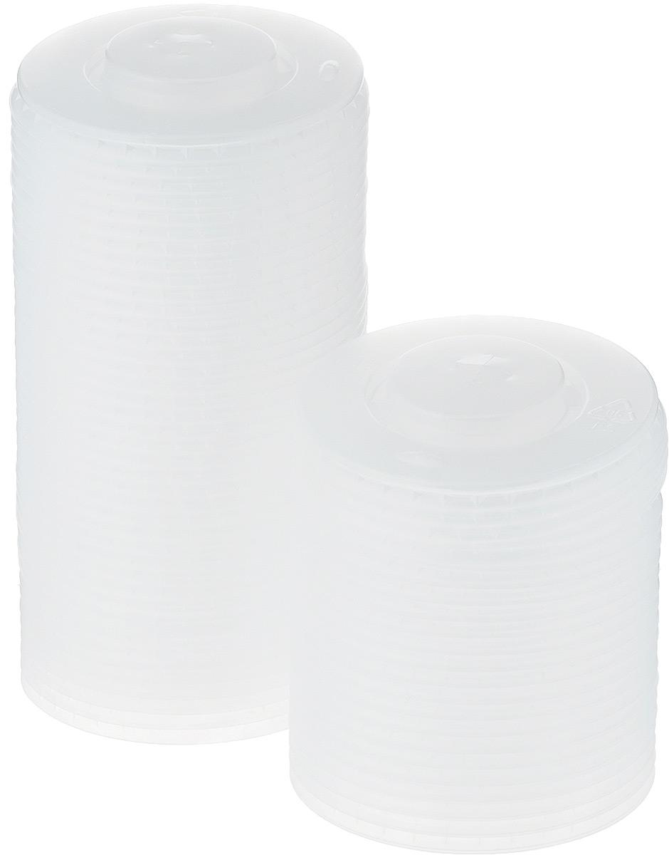 Крышка одноразовая Huhtamaki, цвет: белый, диаметр 9 см, 150 штПОС09913Крышка одноразовая Huhtamaki предназначена для пластиковых стаканчиков. Крышка плотно одевается на стакан и не допускает проливания жидкости. В центре имеется крестообразный разрез для трубочки.
