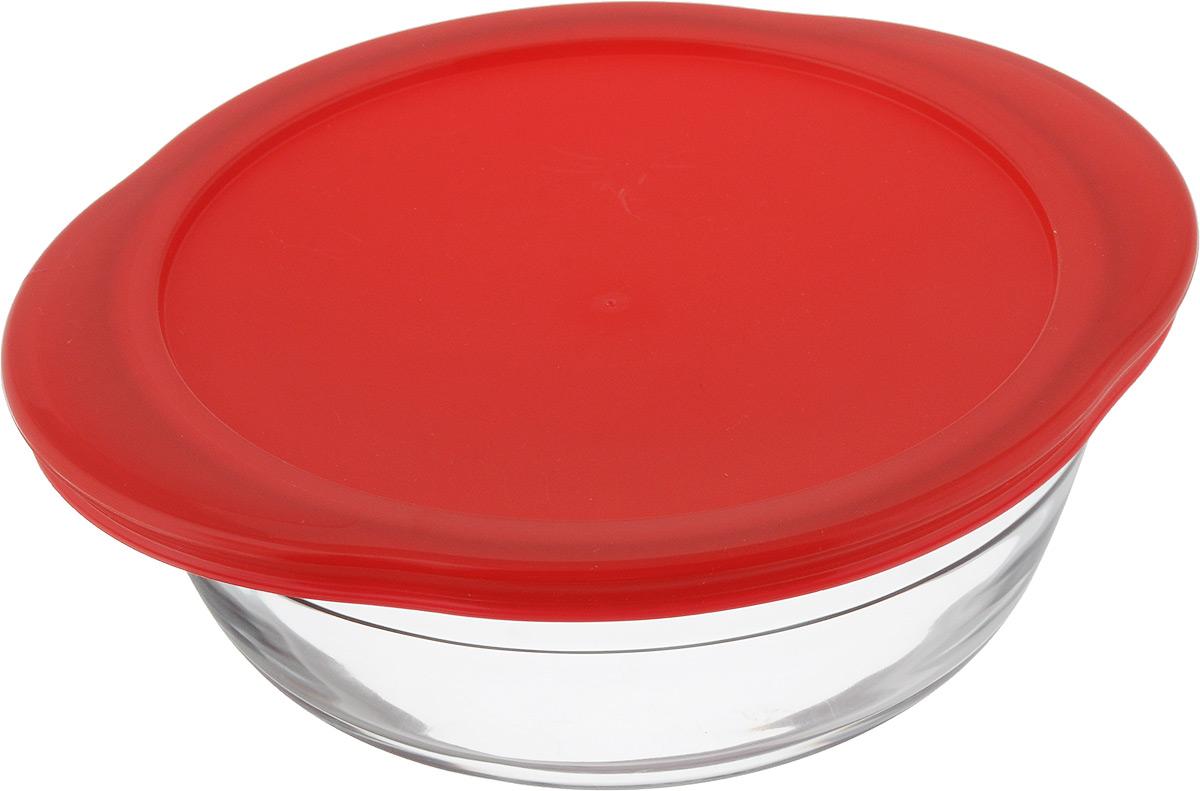 Форма для запекания Pyrex O Cuisine, круглая, с крышкой, 20 х 18 см207PC00Форма Pyrex O Cuisine изготовлена из прозрачного жаропрочного стекла. Непористая поверхность исключает образование бактерий, великолепно моется. Изделие идеально подходит для приготовления в духовом шкафу. Выдерживает перепад температур от -40°C до +300°C. Форма Pyrex O Cuisine подходит для использования в микроволновой печи, приготовления блюд в духовке, хранения пищи в холодильнике. Можно мыть в посудомоечной машине. Размер формы (по верхнему краю): 20 х 18 см. Высота формы: 7 см.
