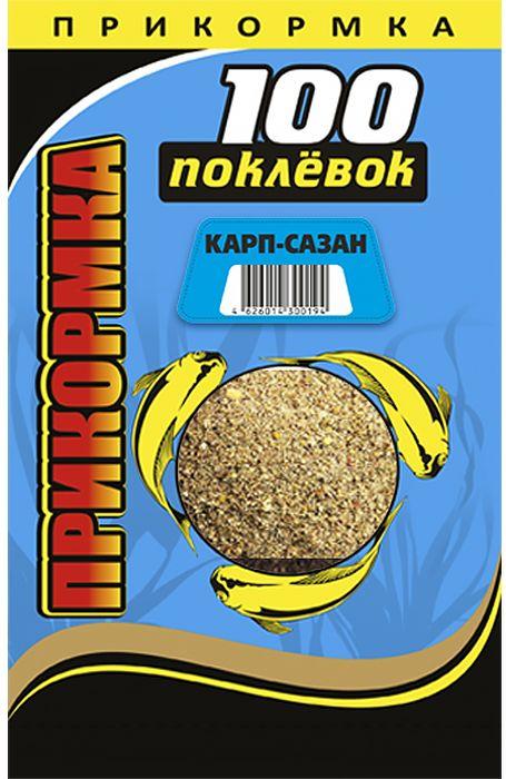 "Прикормка ""100 Поклевок"", карп, сазан, 900 г 0057023"
