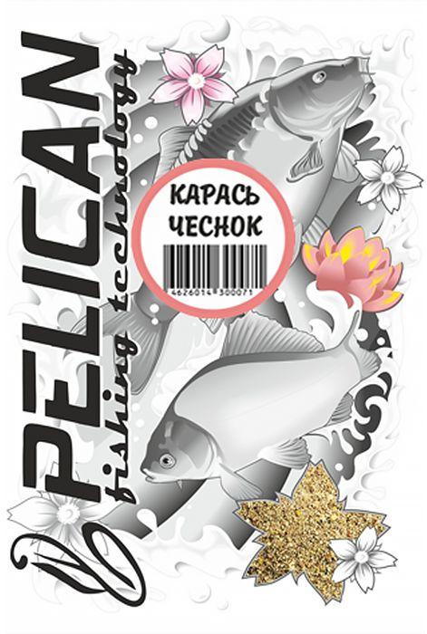 "Прикормка ""Pelican"", карась, чеснок, 1000 г 0059175"