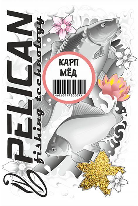 Прикормка Pelican, карп, мед, 1000 г0059176Прикормка крупного помола с большим содержанием аминокислот, орехов и сухофруктов, желтого цвета. Аромат лугового меда не останется незамеченным толстыми сладкоежками. Предназначена для ловли карпа в коммерческий водоемах. В сочетании с прикормкой RIVER или FEEDER может использоваться на водоемах с сильным течением. Подходит как для поплавочной ловли при закорме с руки или с помощью рогатки, так и для ловли на фидер с использованием кормушки. Желтый цвет соберет рыбу с больших расстояний.